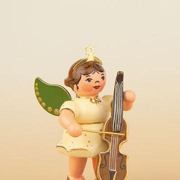 Engel mit Cello 6,5 cm